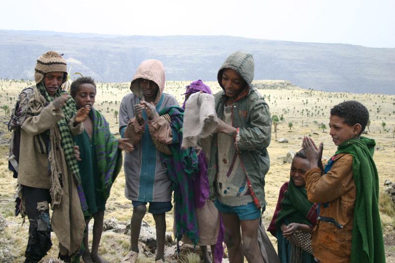 Ethiopian young boys