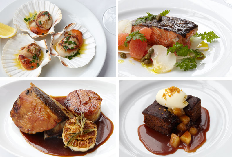 A selection of the superb dishes served at Roast