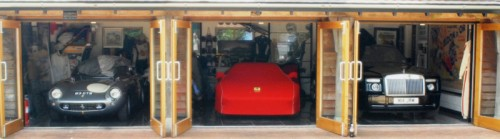 Ferrari 275 GTB C and Ferrari 288 GTO and Rolls Royce Phantom Coupe