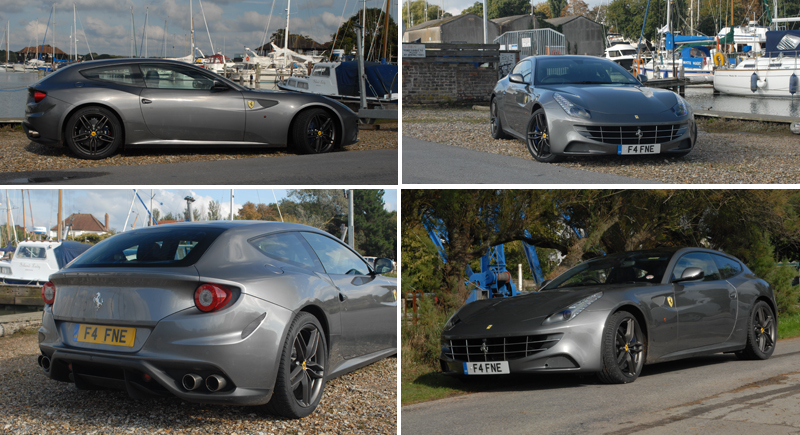 Ferrari FF at Birdham Pool