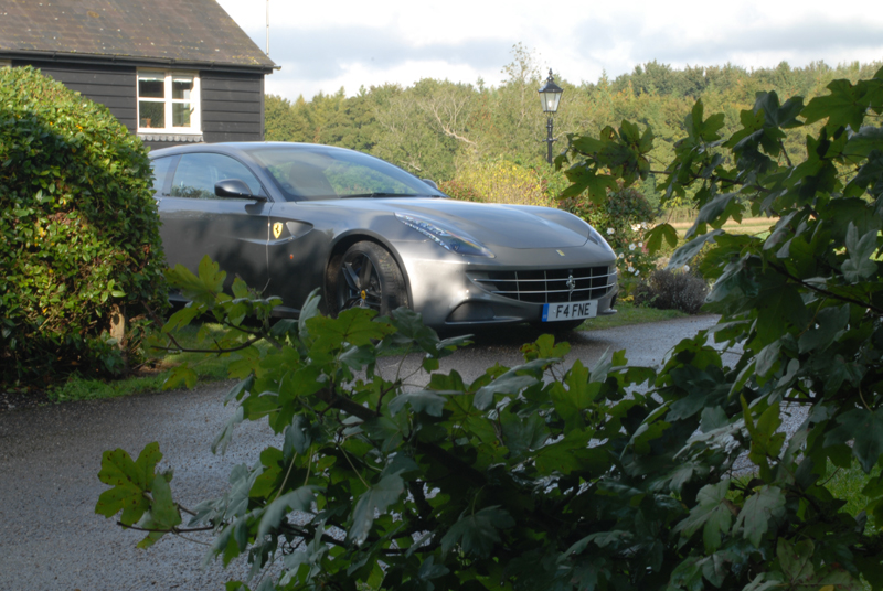 Ferrari FF at Preshaw