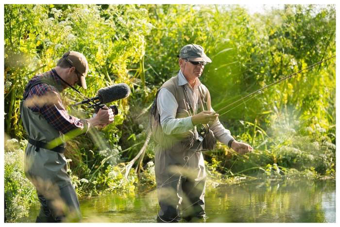 Filming of Life of a Chalk Stream
