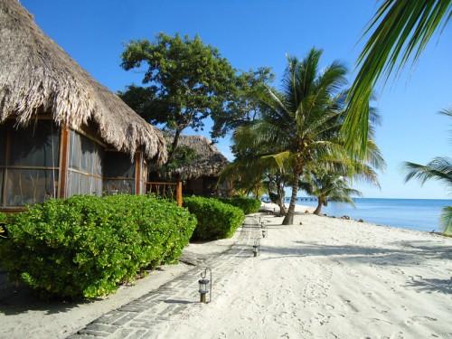 Fishing Belize Turtle Inn beach cottage