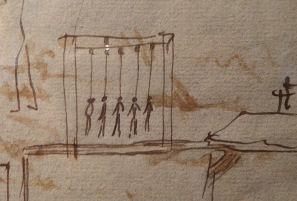 Five Decembrists were hanged