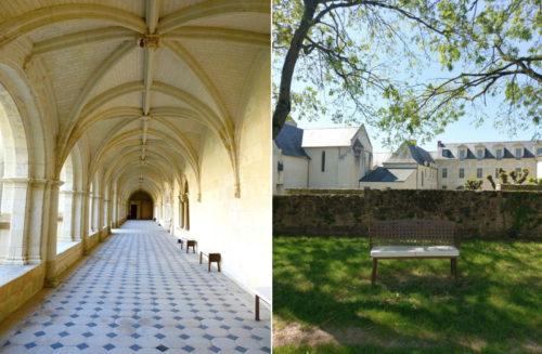 Fontevraud Abbey in the Loire Valley