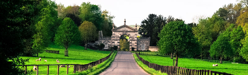 Entrance Gates to Fonthill Estate