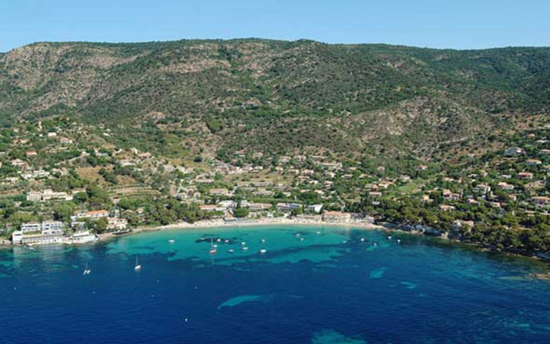 From Le Lavandou to St Tropez