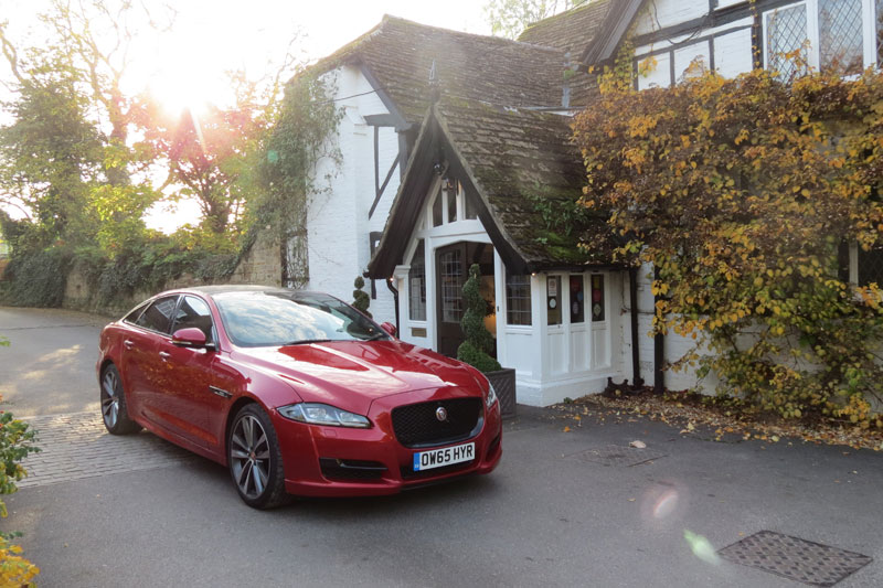 Jaguar XJ R-Sport SWB 3.0 V6 300PS at Ockenden Manor Cuckfield West Sussex