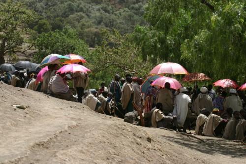 Funeral Nakutolab Lalibella Ethiopia
