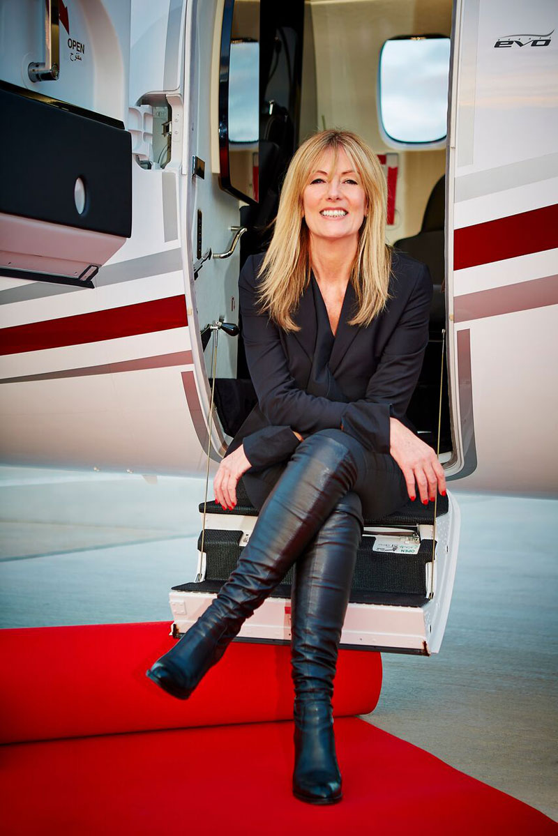 Gabriella Somerville Founder and Managing Director of Connectjets