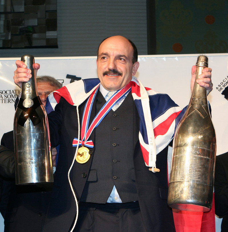 Gerard Basset Winner of The Best Sommelier in the World
