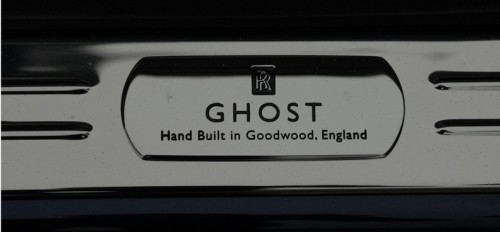 Ghost Hand-Built at Goodwood