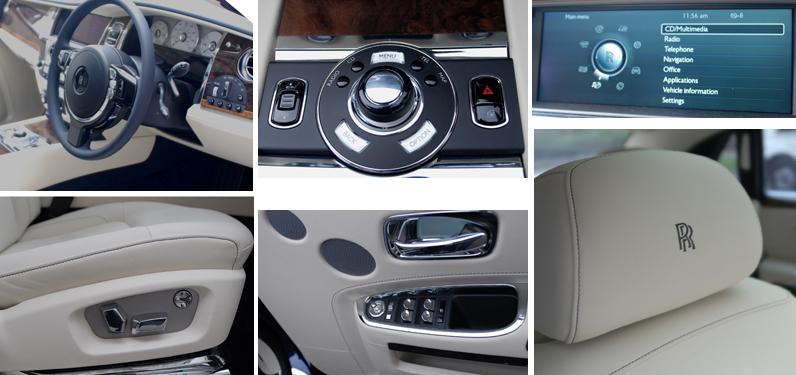 Ghost Rolls Royce Interior Details