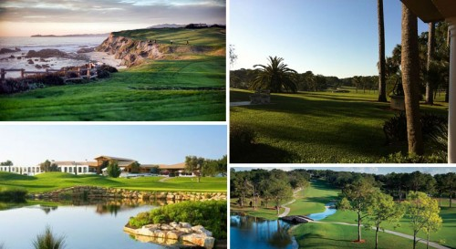 Golf Course destinations on Golf Cruises