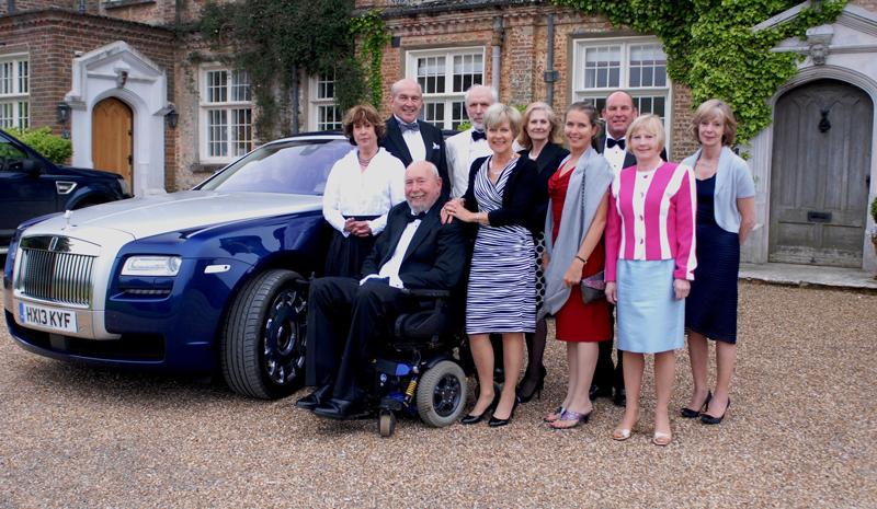 Grange Park Opera Goers Group Photo