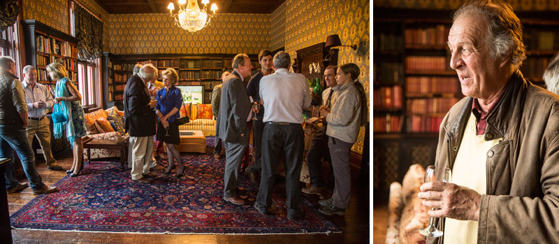 Guests at Huntsham Court Reception for the launch of The Book of the Shoot