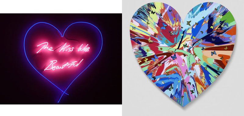 Hearts Contemporary Art Tracy Emin