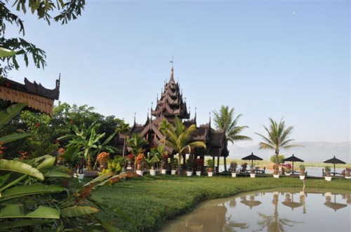 Hotel Royal Villa on Inle Lake