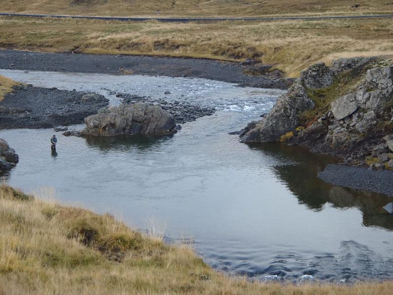 Hrútafjarðará Iceland