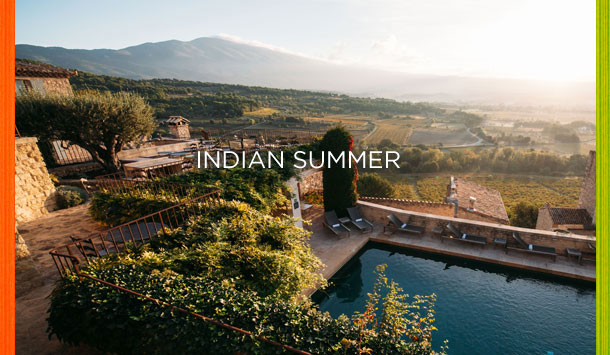 Indian Summer at Crillon le Brave