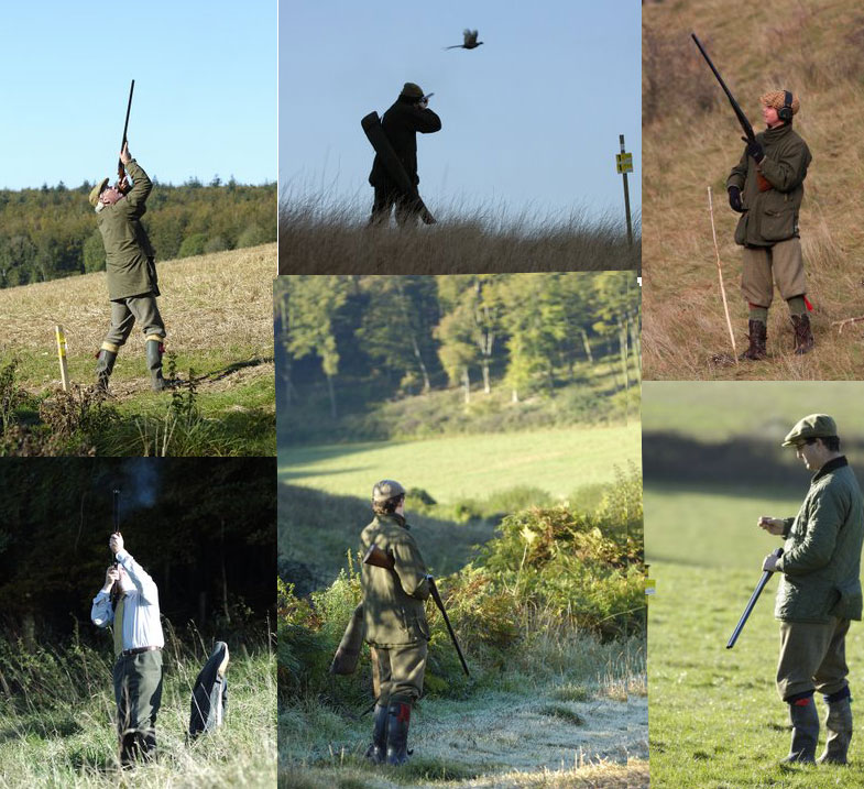 Individual Guns on Pegs