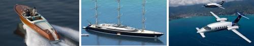Italian Icons Peroni Navi, Riva Speedboat and Piaggio Aero Jet