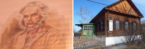 Ivan Gorbachevski and his house