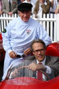 Jackie Stewart and Lord March credit Adam Beresford