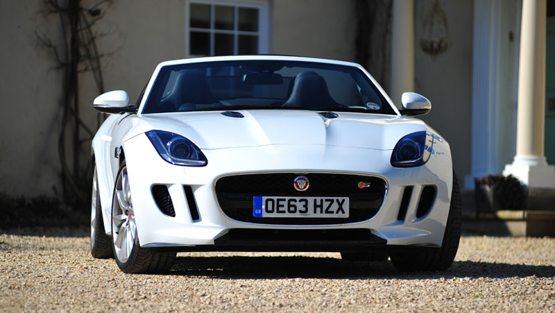 Jaguar-F-Type-front
