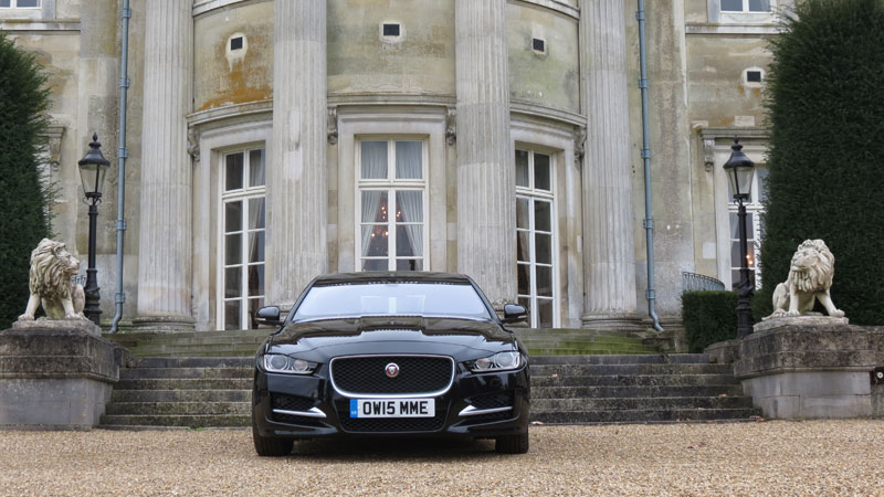 Jaguar XE SE 163PS Diesel Auto Saloon at Luton Hoo Hotel