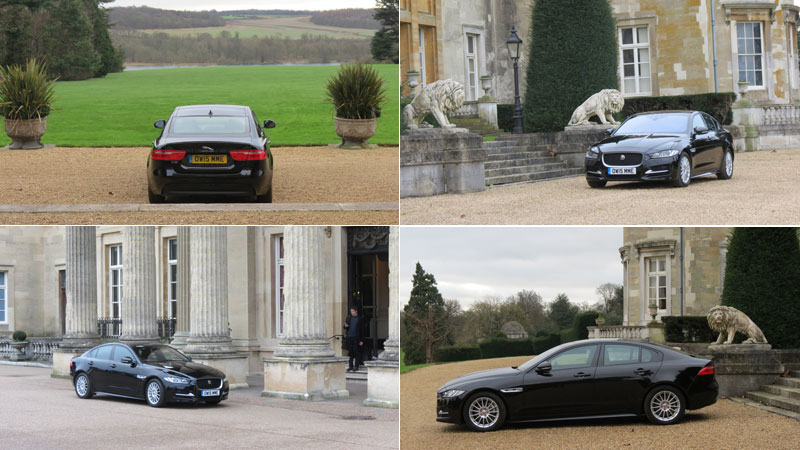 Jaguar XE SE 163\ps \diesel Auto Saloon at Luton Hoo Hotel