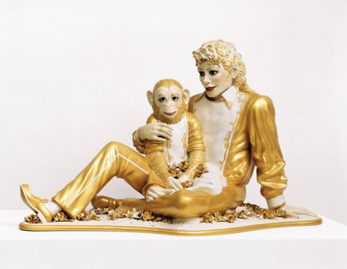 Jeff Koons Michael Jackson and Bubbles