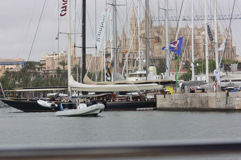 Js congregate at a regatta in Europe, The Palma SYC for the first time since 1938