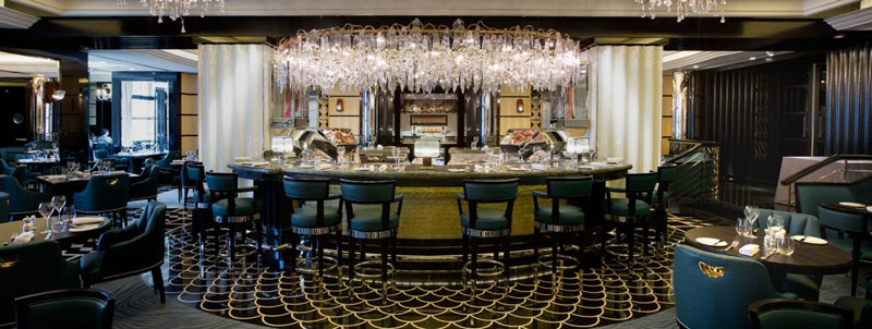 Kaspars Seafood bar and grill at The Savoy London