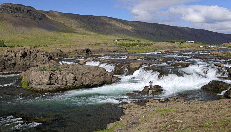 Laxá í Kjós Iceland