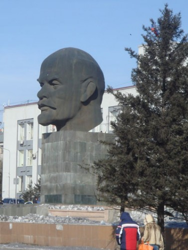 Lenin Statue in Ulan-Ude