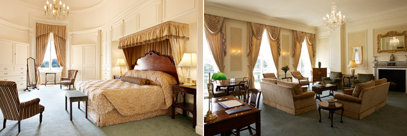 Luton Hoo Hotel Golf Course and Spa Lady Zia Suite