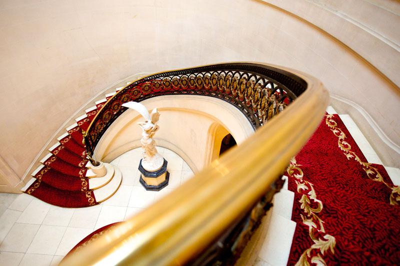 Luton Hoo Hotel Sweeping Staircase