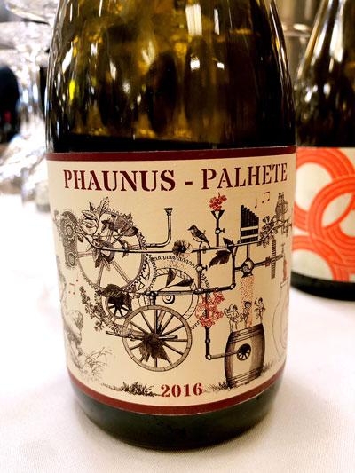 Phaunus Palhete 2016 Vinho Verde Aphros Wines