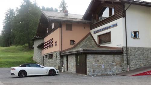 Maserati-GranCabrio-MC-at-the-famous-Bobsleigh-Clubhouse-St.-Moritz
