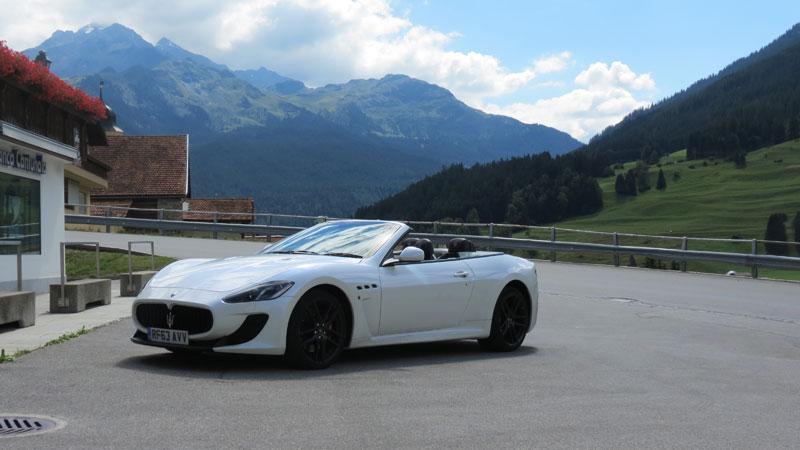 Maserati-GranCabrio-MC-in-theSwiss-Alps