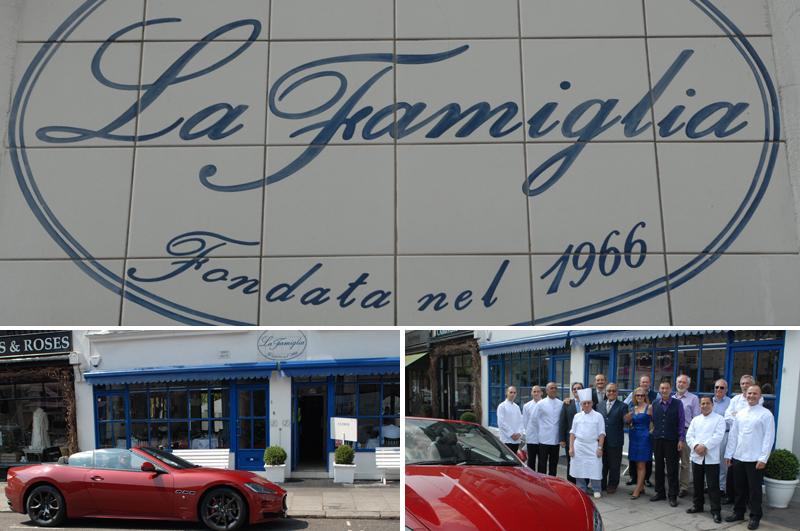 Maserati Grancabrio Sport at La Famiglia