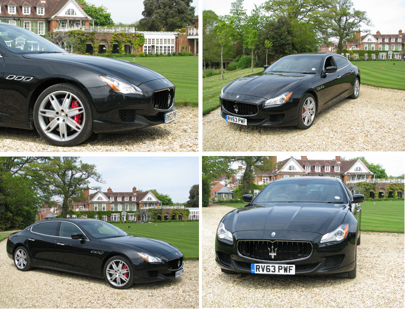 Maserati-Quattroporte-at-Chewton-Glen