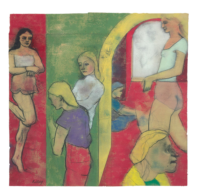 Masterpiece-2015---R.B.-Kitaj,-Sighs-from-Hell,-1979.-Pastel-and-carcoal-on-joined-sheets-of-paper.-Thomas-Gibson-Fine-Art