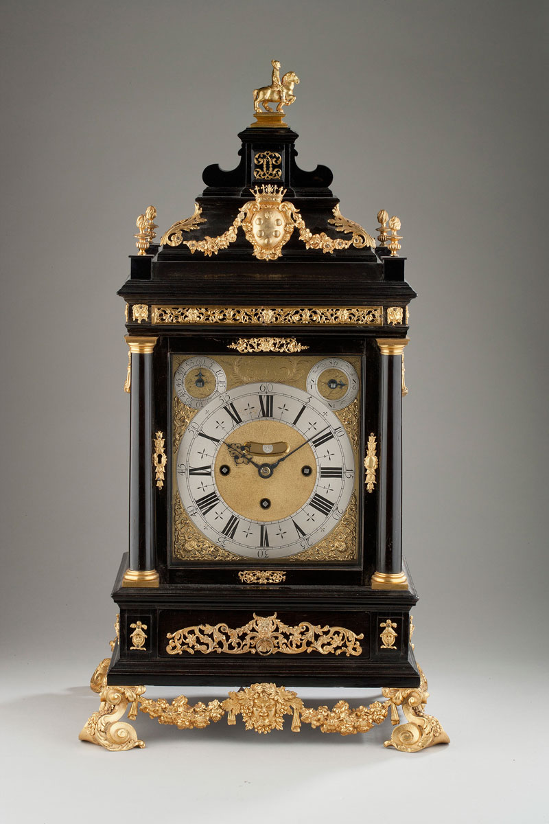 Masterpiece-2015---The-Medici-Tompion,-circa-1669,-ebony-and-gilt-brass-mounted-Grande-Sonn...