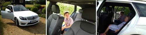 Mercedes C Class Estate a perfect family car