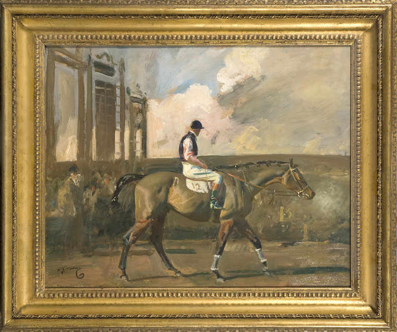 Munnings 'After the Race, Cheltenham
