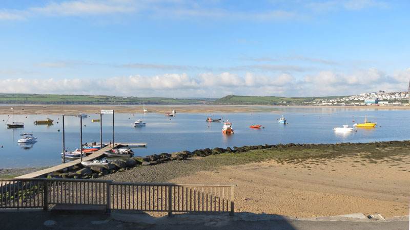 Nathan Outlaw's Mariners Pub and Restaurant in Rock overlooking the Camel Estuary to Padstow