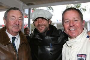 Nick Mason, Jay Kay and Martin Brundle credit Marcus Dodridge