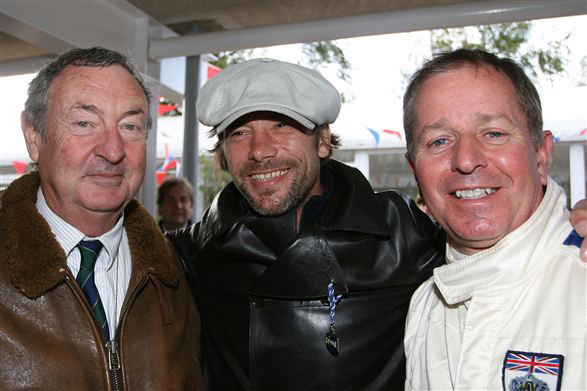Nick Mason, Jay Kay and Martin Brundle credit Marcus Dodridge
